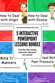 Character Education Interactive PowerPoint / Whiteboard Le
