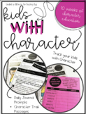 Character Education: Character Traits Daily Journal