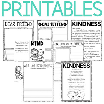 Character Education: Kindness {Lesson Plans and Activities}