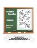 Character Education:  Kindness with Chrysanthemum story book