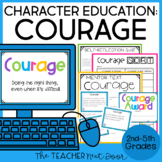 Character Education for 2nd - 5th Grades: Courage | Courag