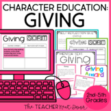 Character Education for 2nd - 5th Grades: Giving | Giving