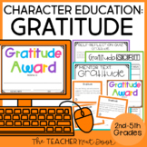 Character Education Kit for 2nd - 5th Grades: Gratitude |