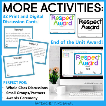 Character Education for 2nd - 5th Grades: Respect | Respect Activities