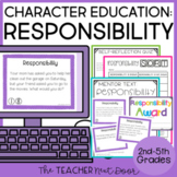 Character Education Kit for 2nd - 5th Grades: Responsibili