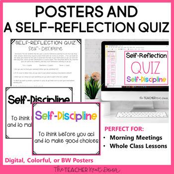 Character Education Kit: Self-Discipline | Self- Control