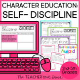 Character Education for 2nd - 5th Grades: Self-Discipline