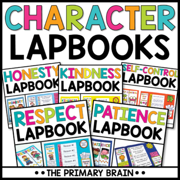 Character Education Lapbook Bundle