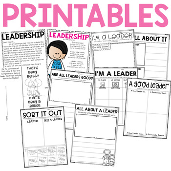 Character Education: Leadership {Lesson Plans and Activities}