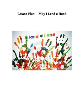 Character Education - Lend a Hand - first week of school,