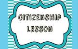 Character Education Lesson: Citizenship
