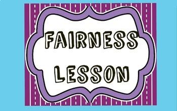 Character Education Lesson: Fairness
