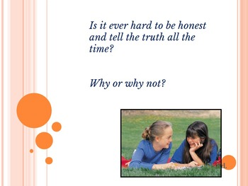 Character Education Lesson about Honesty