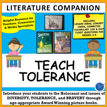 Character Education Lessons: Tolerance, Diversity & Holocaust with Picture Books