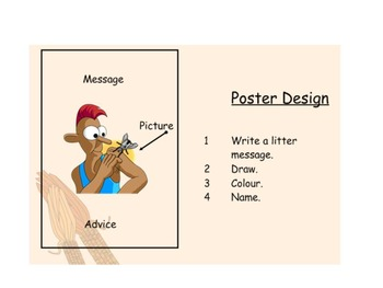 Character Education SmartBoard - Litter - Keeping our school litter free