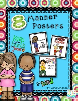 Character Education - Manners Posters