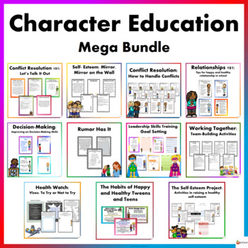 Character Education Mega Bundle