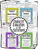 Character Traits Education in the Classroom - MONTHLY Posters and Activities
