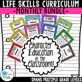Character Traits Education in the Classroom - MONTHLY Post