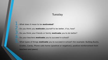 Character Education- Motivation