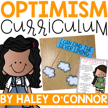Character Education: Optimism {Lesson Plans and Activities}