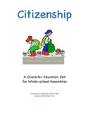 Character Education Package--CITIZENSHIP--Skit and Activities Included