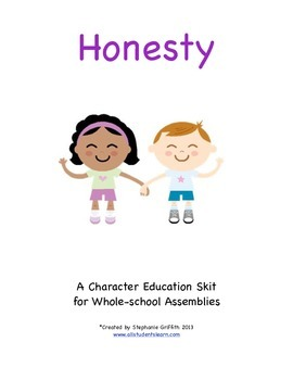 Character Education Package--HONESTY--Skit & Activities Included