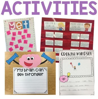 Character Education: Perseverance {Lesson Plans and Activities}