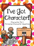 Character and Personality Traits