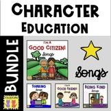 Character Education Songs BUNDLE