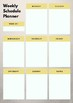 Character Education Planner