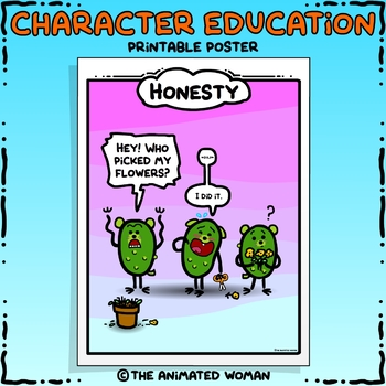 Character Education Poster - HONESTY