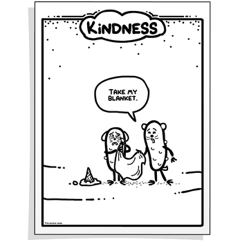 Character Education Poster - KINDNESS
