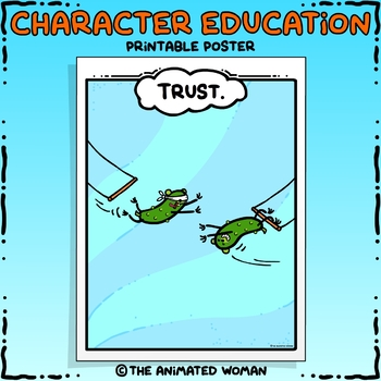 Character Education Poster - TRUST