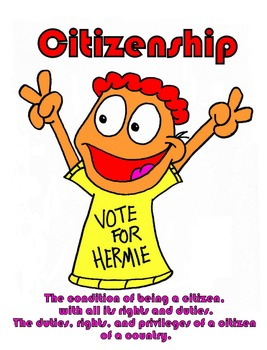 Citizenship Character Education Poster