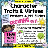 Character Traits Posters and Character Education Posters 103 Traits & Growing!