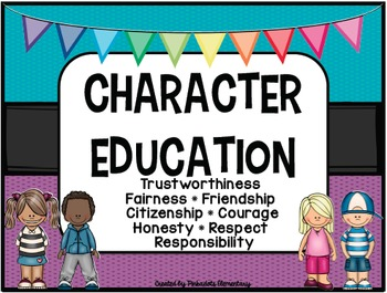 Character Education Posters - Perfect for any classroom!