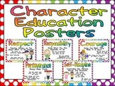 Character Education Posters and Writing Prompts