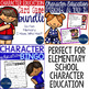 Character Education Resource Bundle for Elementary School Counseling