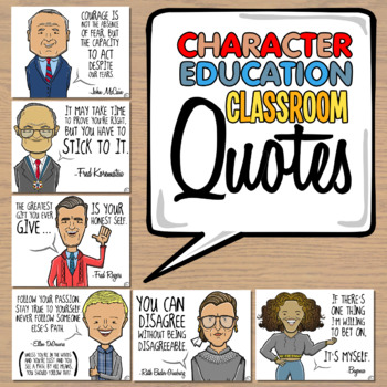 Character Education Quotes   Motivational Posters