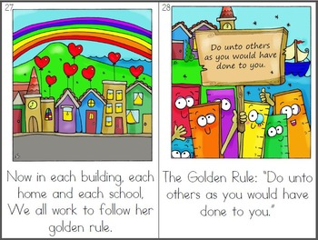 image about Golden Rule Printable titled The Golden Ruler: First Printable Guide with Reward Clip Artwork