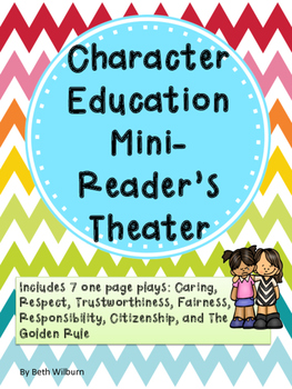 Character Education Reader's Theater