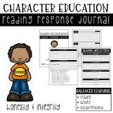 Character Education Reading Response Journal: Honesty & Integrity
