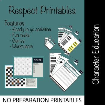 Character Education: Respect Activities