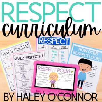 Character Education: Respect {Lesson Plans and Activities}