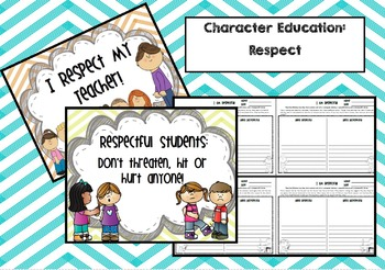 Character Education: Respect (Posters and Responses)