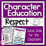 Social Emotional Learning   Respect Activities   Character