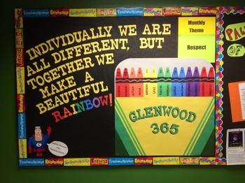 Character Education: Respect bulletin board idea