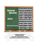 Character Education:  Respect with Do Unto Otters story book