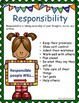 Responsibility Character Education Lessons and Activities